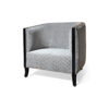Theo Upholstered with Wooden Frame Armchair 2