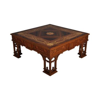 Top Elegant Coffee Table Marquetry Veneer Inlay