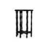 Ulysse Star Black Wooden Side Table 4