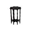 Ulysse Star Black Wooden Side Table 3