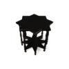 Ulysse Star Black Wooden Side Table 2
