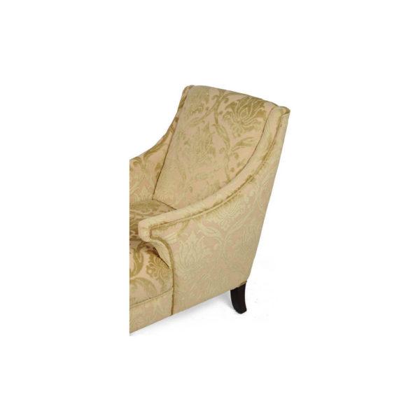 Windsor Upholstered Patterned Armchair Details