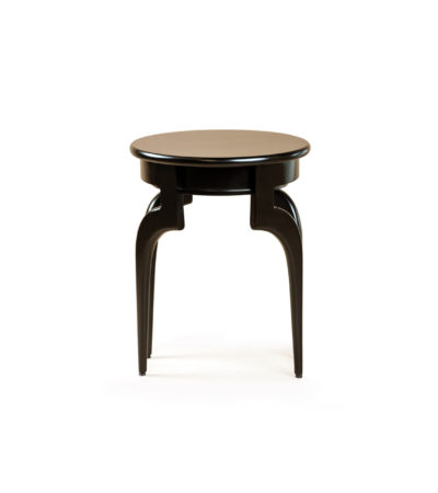 adney curved leg side table