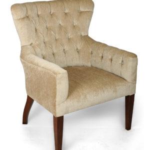 Upholstered French Arm Chair Design UK - Englander Line