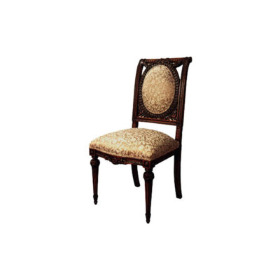 Antique French Style Dining Chair Hand Carved Detailed