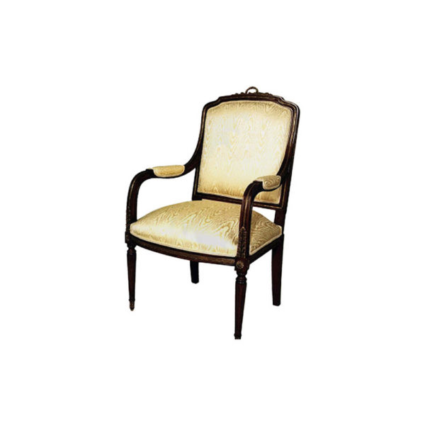 Classic French Style Carved Armchair