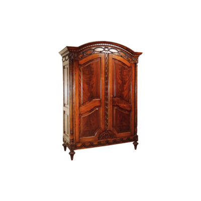 Earline Wooden French Style Armoire Wardrobe Rococo Ornate