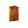 Earnshaw Wooden Armoire Wardrobe Hand Carved Wood 1