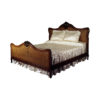 Easter Classic Wooden Rattan Bed 1