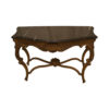 Edmundo French Antique Marble Console Table 1