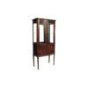 Eilene Antique French Style Display Cabinet with Glass Doors 1