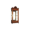 Eimile Antique Hand Carved Wooden Display Cabinets Glasses 1