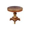Eldon Elegant French Marquetry Hall Veneered Table 1