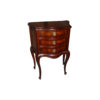 Elka Antique Wooden Chest of Drawers with Marquetry Veneer Inlay 1