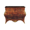 French Chest of 3 Drawers with Brass Ornament 1