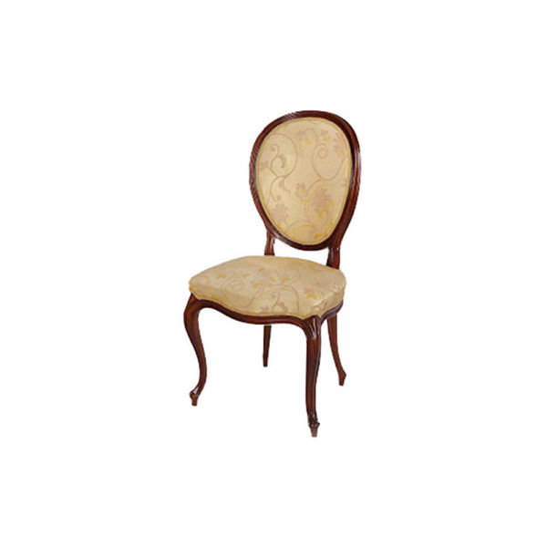 French Classic Dining Chair with luxury Fabric