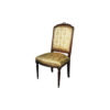 French Dining Chair with Hand Carved Detailed 1