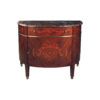 French Marquetry Half Moon Chest 1