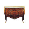 French Reproduction Chest Of Drawers with Marble Top 1