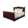 Hand Carved Wooden Bed 1