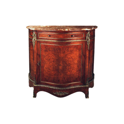 Natural Veneer French Chest Marble Top