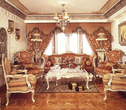 Abelson Reproduction French Salon Set 1
