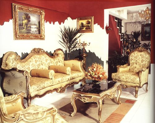 Albom Contemporary French Furniture Salon Set 2