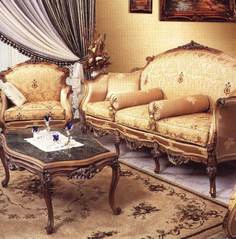 Amiel Classical French Salon Set 1