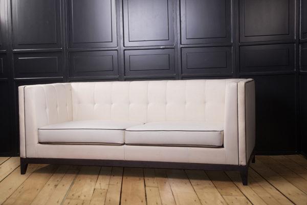 Bancroft Modern Living Room Fabric Sofa 2