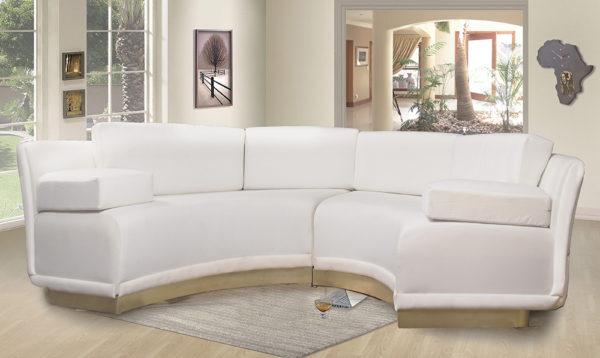Barlet Modern Living Room Fabric Sofa 3