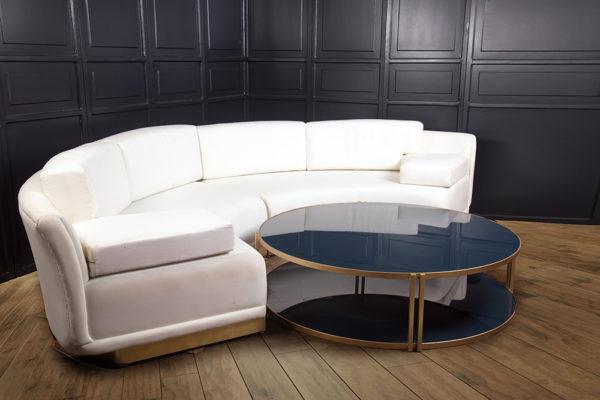 Barlet Modern Living Room Fabric Sofa 5
