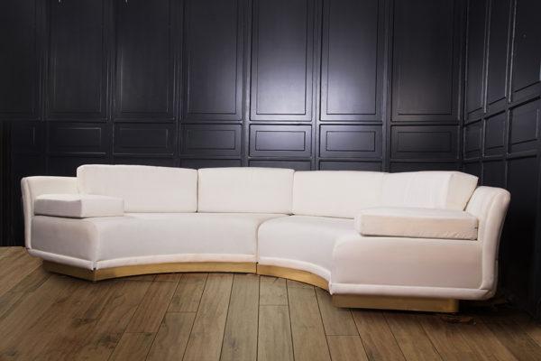 Barlet Modern Living Room Fabric Sofa 1
