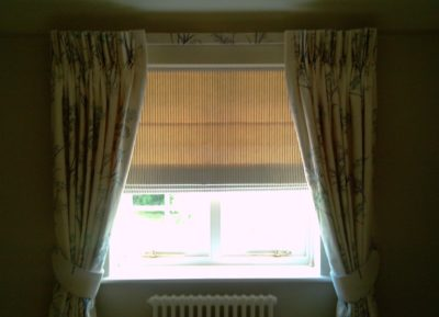 Custom Made Roman Blind with Custom Decorative Trim
