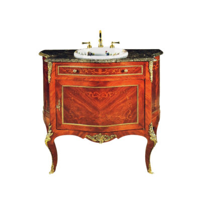 Antique French Reproduction Vanity Unit