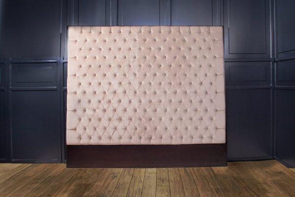 Artis Diamond Tufted Headboard with Luxury Upholstery Velvet Fabric 1