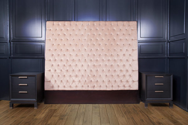 Artis Diamond Tufted Headboard with Luxury Upholstery Velvet Fabric 3