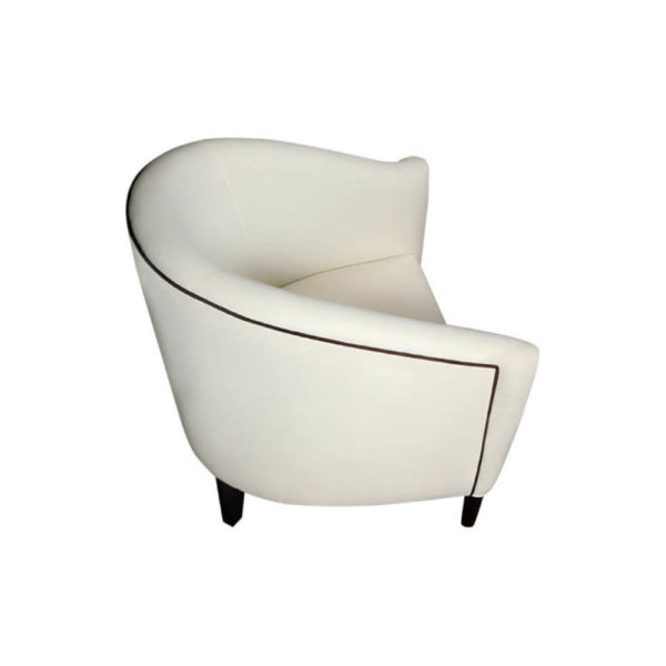 Addison Rolled Upholstered Tub Arm Chair Top