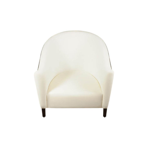 Addison Rolled Upholstered Tub Arm Chair Top View