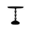 Amari Round Small Wooden Side Table 1