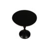 Amari Round Small Wooden Side Table 2