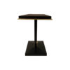 August Black Curved Leg Console Table 4