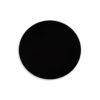 Cinnabar Round Black High Gloss Side Table 4
