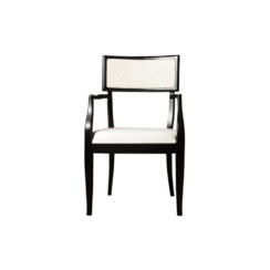 Colton Upholstered Dining Room Chair with Arms