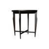 Cruz Wooden Black Round Side Table 3