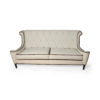 Faith Upholstered Two Seater Rolled Arm Sofa 1