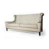 Faith Upholstered Two Seater Rolled Arm Sofa 4