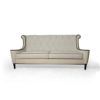 Faith Upholstered Two Seater Rolled Arm Sofa 2