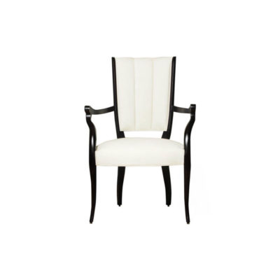 Grace Upholstered High Back Dining Arm Chair