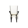 Grace Upholstered High Back Dining Arm Chair 4