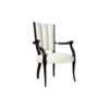 Grace Upholstered High Back Dining Arm Chair 2